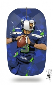 Slim Wireless Mouse Seattle Seahawks: QB 3 - Russell Wilson