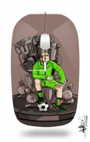 Slim Wireless Mouse The King on the Throne of Trophies