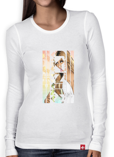 Women Long Sleeve T-shirt anaconda minaj gta