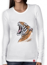 Women Long Sleeve T-shirt Animals Collection: Tiger
