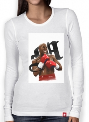 Women Long Sleeve T-shirt Boxing Legends: Money