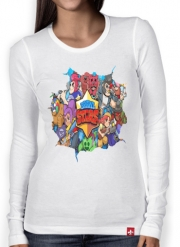 Women Long Sleeve T-shirt Brawl stars