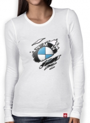 Women Long Sleeve T-shirt Fan Driver Bmw GriffeSport