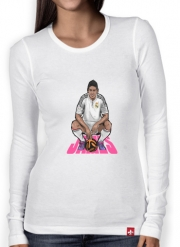 Women Long Sleeve T-shirt Football Stars: James Rodriguez - Real Madrid