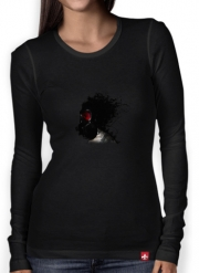 Women Long Sleeve T-shirt Ghost Warrior