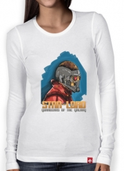 Women Long Sleeve T-shirt Guardians of the Galaxy: Star-Lord