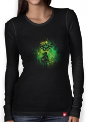 Women Long Sleeve T-shirt Hyrule Art