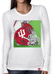Women Long Sleeve T-shirt Indiana College Football