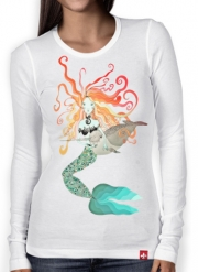 Women Long Sleeve T-shirt MERMAID