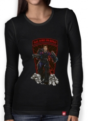 Women Long Sleeve T-shirt Messiah!