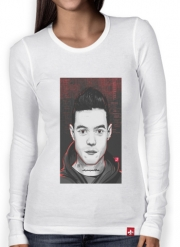 Women Long Sleeve T-shirt Mr.Robot