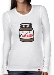 Women Long Sleeve T-shirt Nutella