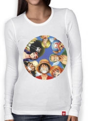 Women Long Sleeve T-shirt One Piece CREW