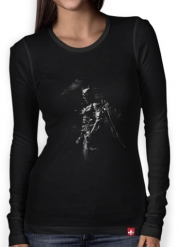 Women Long Sleeve T-shirt Splash Of Darkness