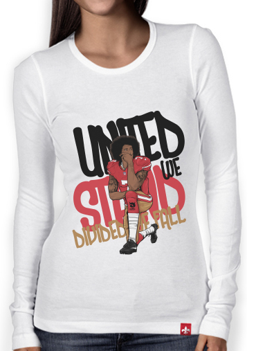 Women Long Sleeve T-shirt United We Stand Colin