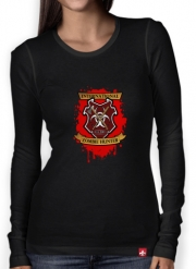 Women Long Sleeve T-shirt Zombie Hunter