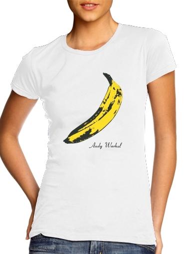 Andy Warhol Banana für Damen T-Shirt