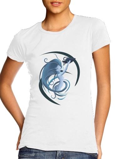 Aquarius Girl für Damen T-Shirt