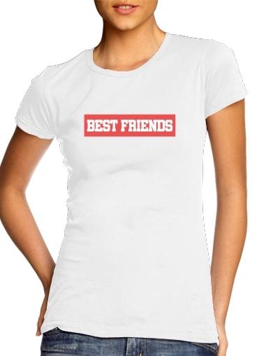 BFF Best Friends Pink für Damen T-Shirt