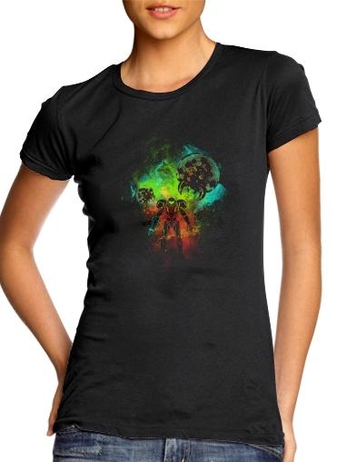 Bounty Hunter Art für Damen T-Shirt