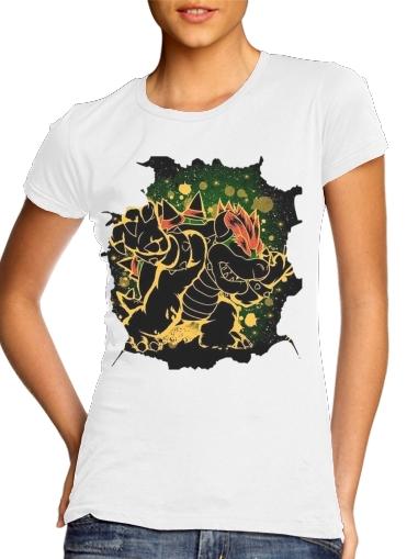 Bowser Abstract Art für Damen T-Shirt