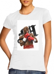 Women T-shirt short sleeve round neck  Boxing Legends: Money