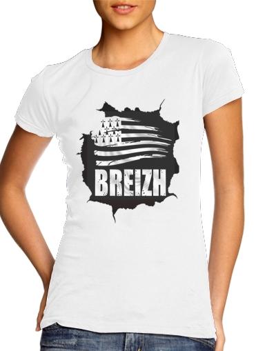 Breizh Bretagne dla Women's Classic T-Shirt