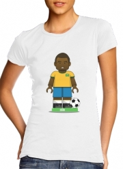Women T-shirt short sleeve round neck  Bricks Collection: Brasil Edson