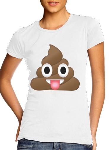 Caca Emoji für Damen T-Shirt