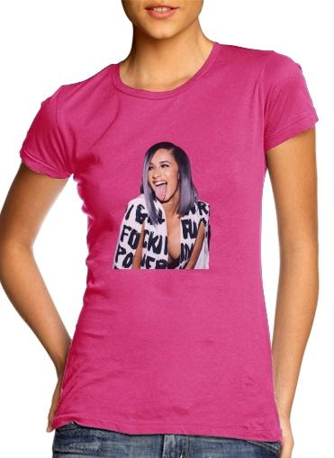 Cardie B Money Moves Music RAP für Damen T-Shirt