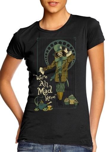 Chapelier fou für Damen T-Shirt