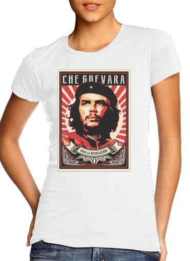 Che Guevara Viva Revolution für Damen T-Shirt