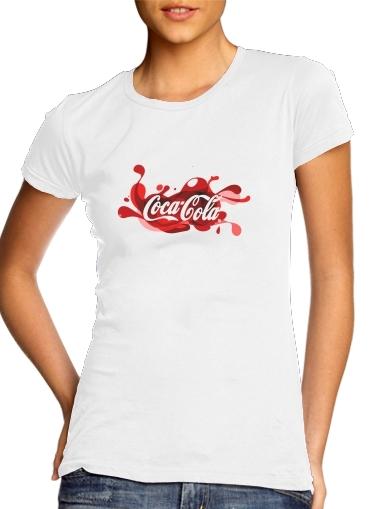Coca Cola Rouge Classic für Damen T-Shirt
