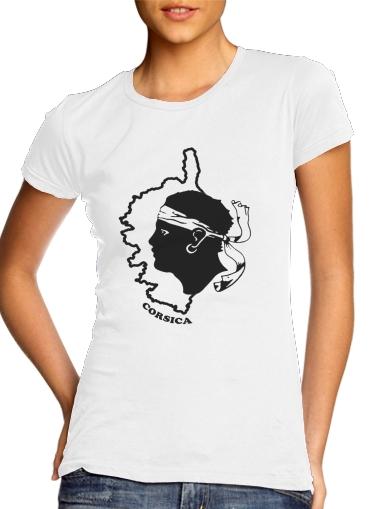Corsica voor Vrouwen T-shirt