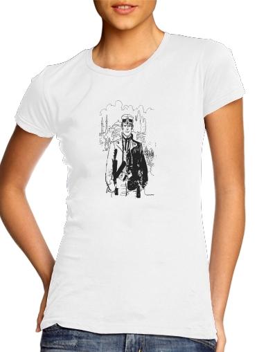 Corto Maltes Fan Art für Damen T-Shirt