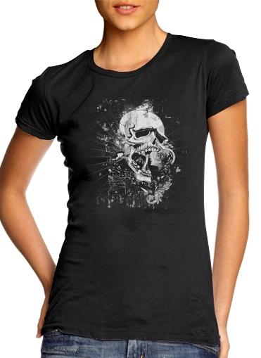 Dark Gothic Skull für Damen T-Shirt