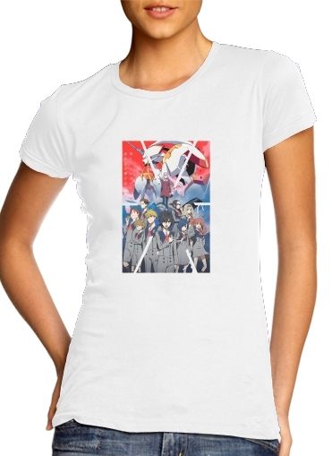 T-Shirts darling in the franxx