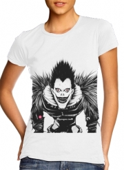 Women T-shirt short sleeve round neck  Death Note