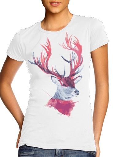 Deer paint für Damen T-Shirt