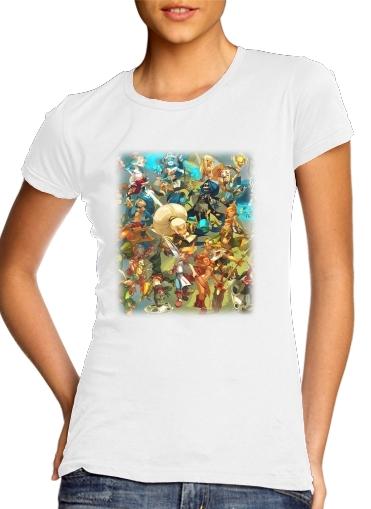 Dofus X Wakfu Fan Art All Classes für Damen T-Shirt