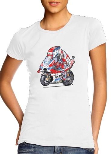 dovizioso moto gp für Damen T-Shirt