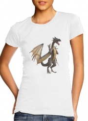 Women T-shirt short sleeve round neck  Dragon Land 2