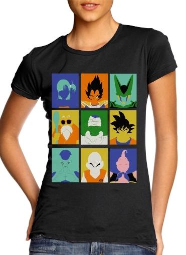 Dragon pop für Damen T-Shirt