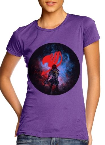 purple- Erza Scarlett voor Vrouwen T-shirt