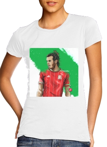 Women T-shirt short sleeve round neck  Euro Wales