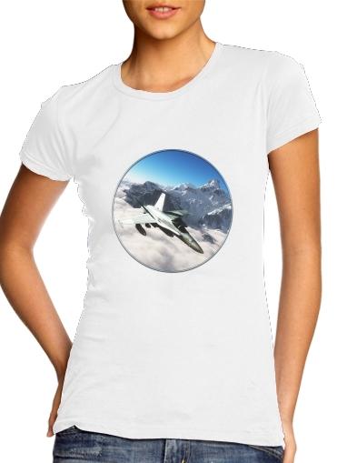 F-18 Hornet für Damen T-Shirt