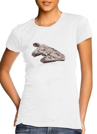 Falcon Millenium für Damen T-Shirt