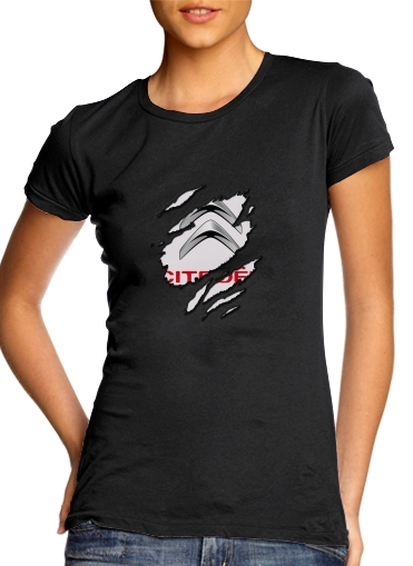 Fan Driver Citroen Griffe für Damen T-Shirt