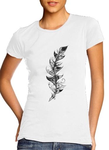 Feather für Damen T-Shirt