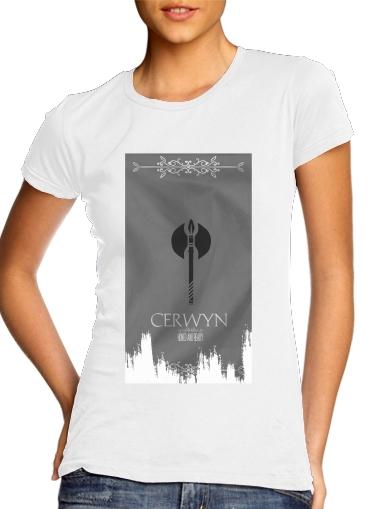 Flag House Cerwyn für Damen T-Shirt